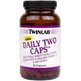 TWINLAB Daily Two caps with iron