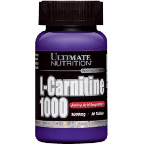L карнитин Ultimate nutrition L-Carnitine 1000